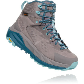 Hoka One One Sky Kaha Hiking Shoes Dame frost gray/aqua haze